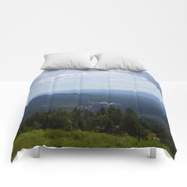 Stowe, Vermont Mountains Comforters