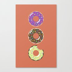 Heaven (Better Known as Multiple Donuts) Canvas Print