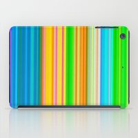 stripe iPad Cases featuring stripe by AmeliaPeelArt