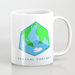 Cubical Earther Coffee Mug