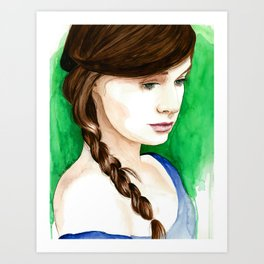 completely at ease Art Print