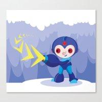 megaman Canvas Prints featuring Megaman by Maria Jose Da Luz