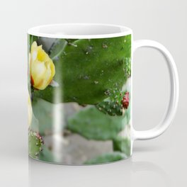 Cactus with flower Coffee Mug