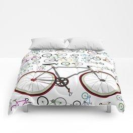 Love Fixie Road Bike Comforters