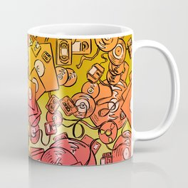 Technology Psychedelic Warm Coffee Mug