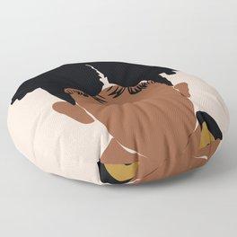 Two Puffs Floor Pillow