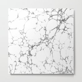 Granito Marble Light Metal Print