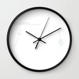 Sleep With A Cook Wall Clock
