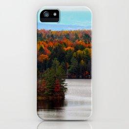 Katahdin Foliage (7) iPhone Case