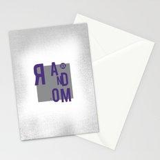 R AN D OM NE S S Stationery Cards