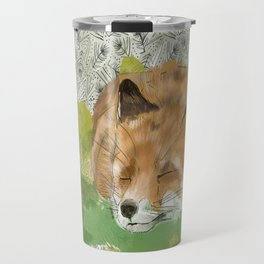 Sleepy Fox Travel Mug