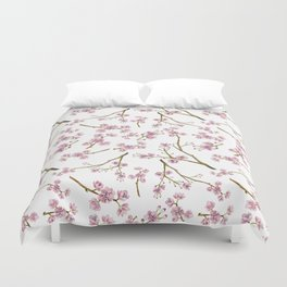 Sakura Cherry Blossoms Duvet Cover