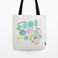 A Serene Succulent Underwater World Tote Bag