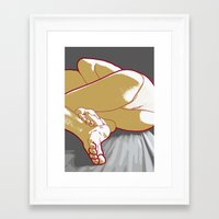 feet Framed Art Prints featuring Feet by Tatyana Adzhaliyska