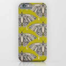 swallowtail butterfly citron basalt iPhone 6s Slim Case