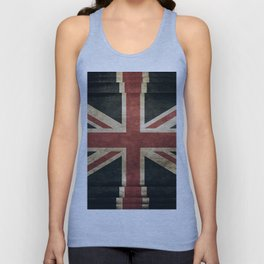 British Flag - Union Jack Unisex Tank Top