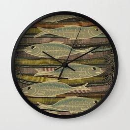 Serendipity / Herrings 1 Wall Clock