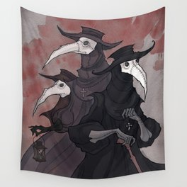 Plague Trio Wall Tapestry