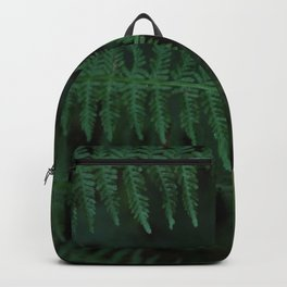 Green leaves of Christmas tree Backpack
