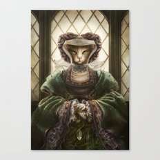 Anne of Sleeves Canvas Print