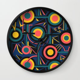 Circle Cirlce Wall Clock