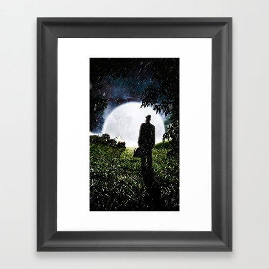The Little Observer Framed Art Print