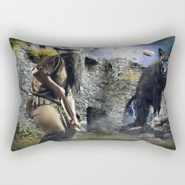 The nothing Rectangular Pillow
