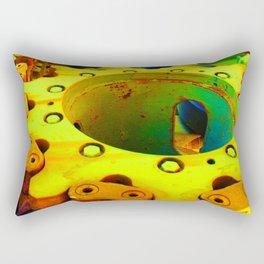 Gears of War in Gold Rectangular Pillow