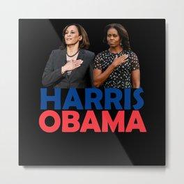 Harris Obama 2027 Metal Print