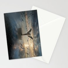 Birds of freedom Stationery Cards