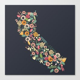 Beauty in Cali Canvas Print