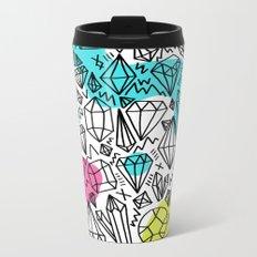gem stones Metal Travel Mug