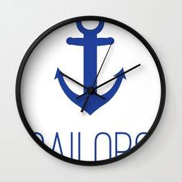 Mount De Sales Wall Clock