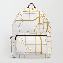 MINNEAPOLIS MINNESOTA CITY STREET MAP ART Backpack