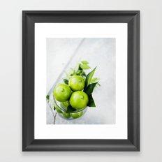 Limes Framed Art Print