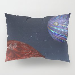 Earth From Mars Pillow Sham