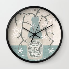 cordial union Wall Clock
