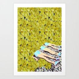 leggy Art Print