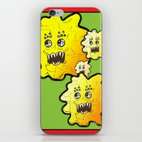 superhero iPhone & iPod Skins featuring Superhero by Paloma Mochales