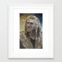 fili Framed Art Prints featuring Fili by PrintsofErebor