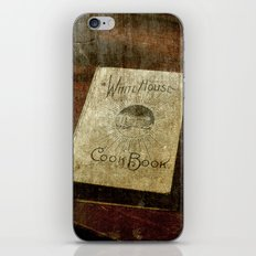 White House Cookbook iPhone & iPod Skin