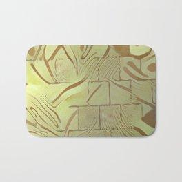 Walled Wild Pattern Bath Mat