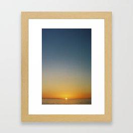 Ocean Sunrise I Framed Art Print