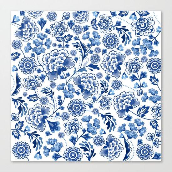 Porcelain Canvas Print