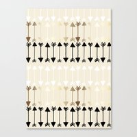 arrows Canvas Prints featuring Arrows by Tangerine-Tane
