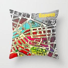 Geneva, Switzerland 2014 Throw Pillow