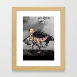 Bill Murray TRex Framed Art Print