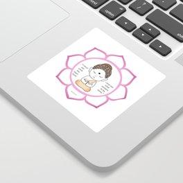 Lotus Flower Stickers Society6