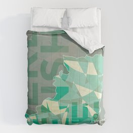 Aberdeenshire County Poster Comforters