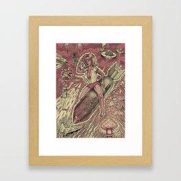 Sex and Violence Framed Art Print